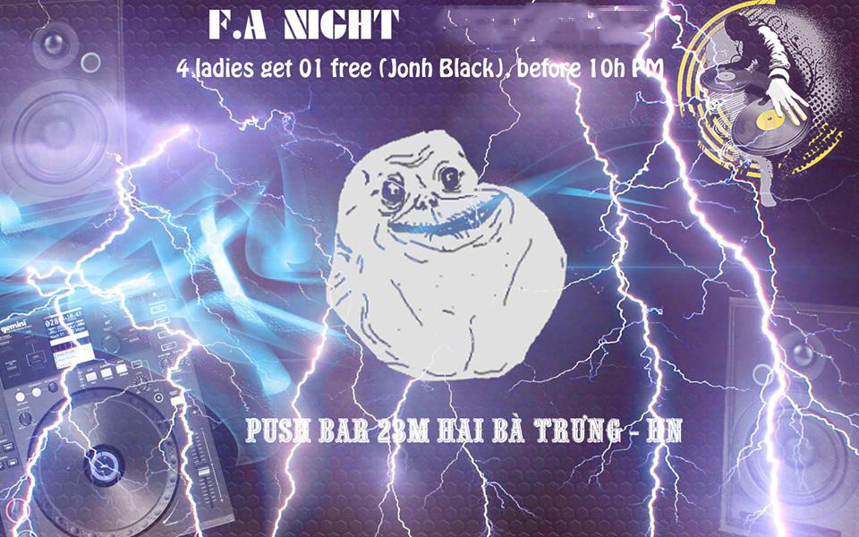 fa night push bar